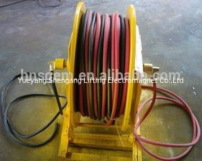 Retractable Double Air Hose Reel For Hydrogen And Oxygen