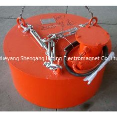 China Circular Crane Lifting Overband Magnetic Separator For Lifting Steel Scraps factory