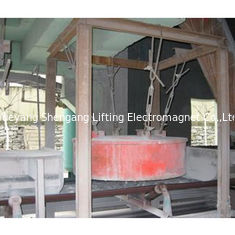 China Manual Magnetic Sheet Separator , Suspended Electromagnetic Separators Remover factory
