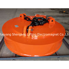 China Crane Scrap Lifting Magnet Strong Chain Connector Welded Body Structure factory