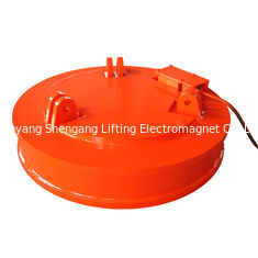 China Circular Scrap Lifting Magnet , Scrap Yard Magnet Systems 2830kg Weight factory