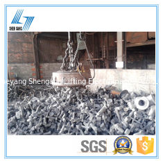 Transporting Ingots Circular Lifting Magnet Powerful Deep Magnetic Field Design