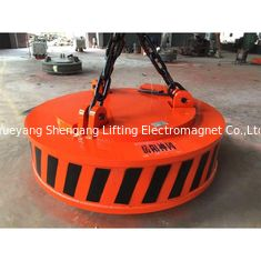 Welded Construction Steel Plate Lifting Magnets 60% Duty Cycle Quick Coupling