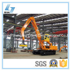 China 200KG  Excavator Magnet Attachment Easy Maintain Long Lifespan Small Size factory