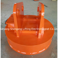 China Large Volumes Scrap Handling Equipment Magnets Round Shaped 75% Duty Cycle factory