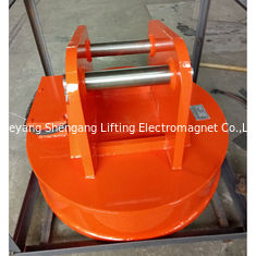 China Digger Excavator Magnet Attachment Compact With Independent Controllers factory