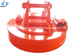 China Circular Excavator Magnet Attachment 220V With Rectifier Control Cabinet factory