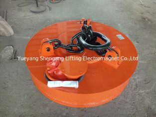 China Professional Excavator Magnet Attachment All Welded Heavy Duty Construction factory