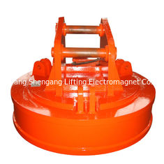 China Powerful Mini Excavator Attachments , Scrap Lifting Electromagnets Class H Insulation factory