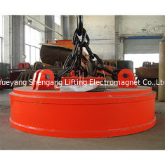 China Powerful Industrial Lifting Magnets Self Contained For Flat Round Material factory
