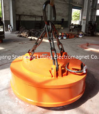 China Electric Industrial Lifting Magnets Separators 600/500kg Steel Scrap Lifting Capacity factory