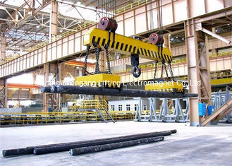 Powerful Round Magnetic Lifting Equipment High Temperature Heavy Duty