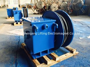 Water Proof Spiral Springs Motorized Cable Reel Without Electric Energy Consumption