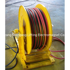 China Wall Mounted Retractable Hose Reel Self Rewinding 100 Ft Commercial Metal factory