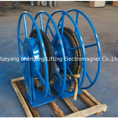 China Advanced Retractable Hose Reel SGS Approved High Safety For Movable Gas factory
