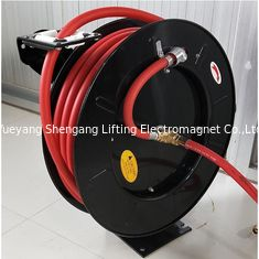 China Industrial Pope Retractable Hose Reel Long Durability Wall Mountable factory