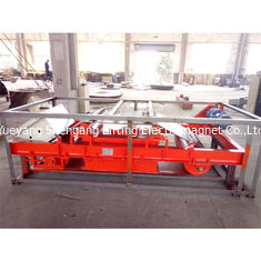 China 4200kg Weight Overband Magnetic Separator High Intensity 1400mm Belt Width factory