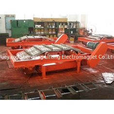 China Low Intensity Permanent Magnetic Separator Red Color TD 100% Duty Cycle factory