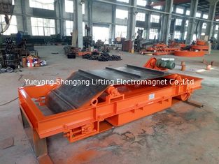 China Iron Type Permanent Magnetic Separator Self Unloading Wooden Shavings Applied factory