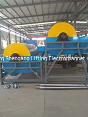 China Dual Magnetic Drum Separator Economical For Chromite Ore Materials factory