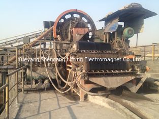 China Double Dry Drum Magnetic Separator Reasonable Flow Strong Structure Body factory