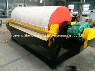 China 5mm Iron Ore  Electromagnetic Drum Separator Strong Magnetic Coercive Force factory