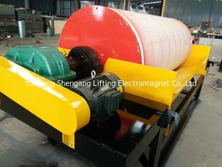 China Wet Magnetic Drum Separator , Industrial Magnetic Separators For Mineral Industry factory