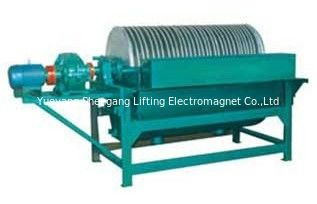 China Coal Mining Magnetic Drum Separator , Magnetic Drum Pulley 19 R/Min Speed factory