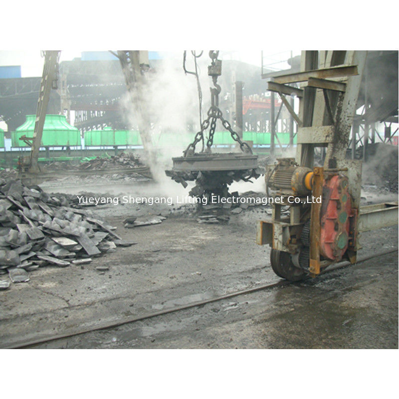 Class H Insulation Scrap Lifting Magnet Industrial Grade  Normal Temperature Type supplier