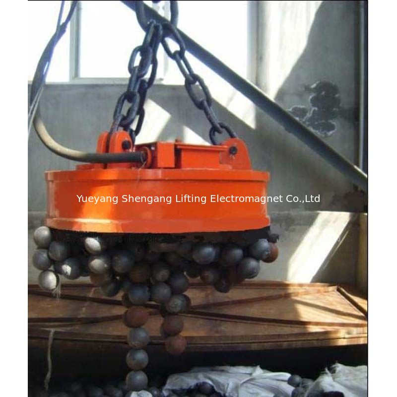 Transporting Ingots Circular Lifting Magnet Powerful Deep Magnetic Field Design supplier