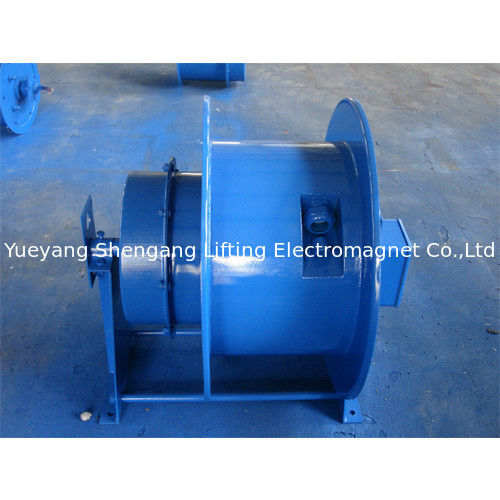 Low Noise Spring Loaded Cable Reel , Electric Hose Reels Roller Small Friction supplier