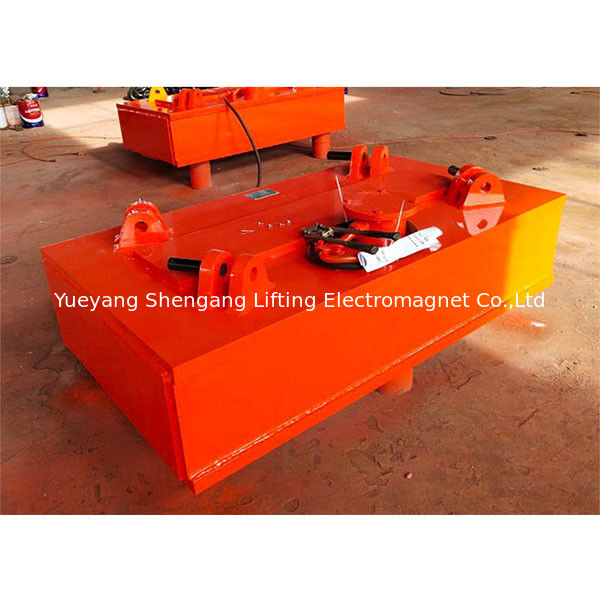 ø1250-1350mm Electric Lifting Magnet Electromagnet 18.37KW Cold State Power supplier