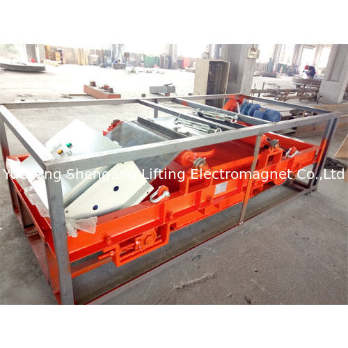 Automatic Suspended Magnetic Separator , Magnetic Drum Separator High Gradient supplier