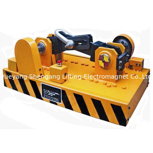 High Safety Super Strong Magnets Yellow Color 3500kg Attraction Force supplier