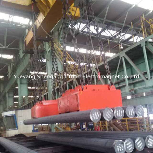 Powerful Round Magnetic Lifting Equipment High Temperature Heavy Duty supplier