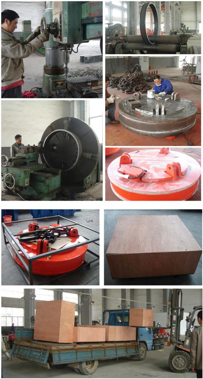 Industrial Heavy Duty Scrap Lifting Magnet for Lifting 500kg Scraps